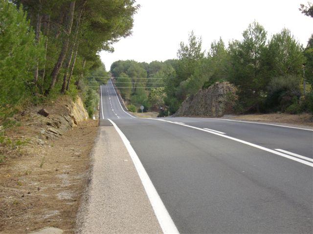 Mallorca Laufen auf Straße